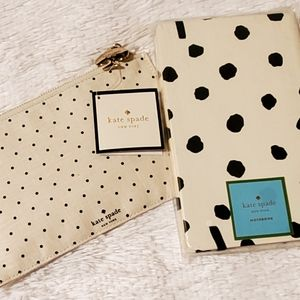 NWT Kate Spade Pencil Pouch and Notebook